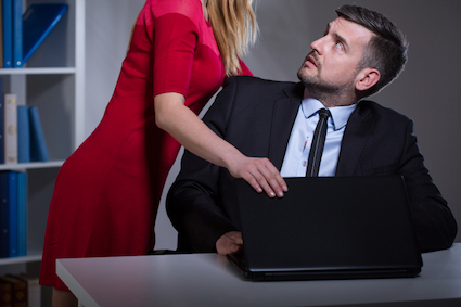 Physical verbal or nonverbal sexual harassment in the workplace should be reported to a